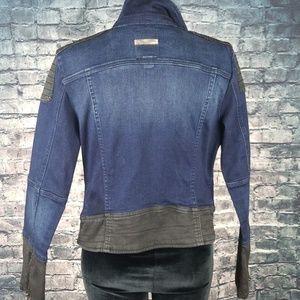Guess Jackets & Coats - Guess Denim Motorcycle Jacket 16 (XL)